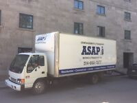 ASAP Movers - fast, friendly, reliable! Great rates!!