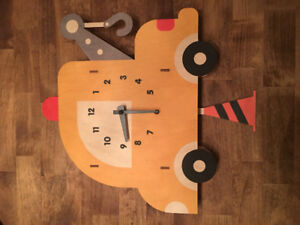 Tow Truck Wall Clock