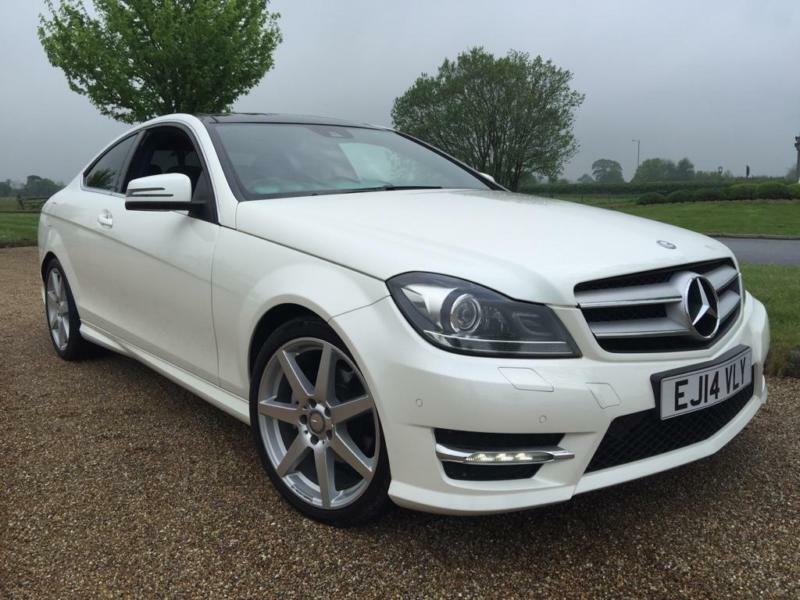 2014 mercedes benz c class c220 cdi amg sport edition premium plus diesel white in orpington. Black Bedroom Furniture Sets. Home Design Ideas
