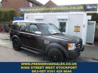 2007 57 LAND ROVER DISCOVERY DISCOVERY V6 DIESEL AUTOMATIC 7 SEATS 22IN BLACK