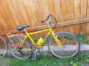 2 vélo prix débarras 100$ pour le lots . Dépêche vous