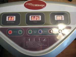 CRAZY FIT MASSAGE WORK OUT EXERCISE MACHINE STATE OF THE ART ! Cambridge Kitchener Area image 8