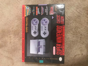 Snes classic (authenticated with Nintendo serial number)