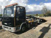 2003 Iveco cargo tector 75E180 Recovery Truck TILT AND SLIDE J&J Body NO VAT