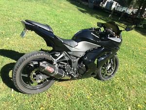 Blacked out ninja 250