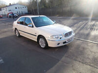 ROVER 45 1.8 CONNOISSEUR MANUAL PETROL SALOON. ONLY 53,000 MILES , HPI CLEARED