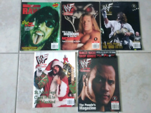 WWF/WWE Magazines 1999