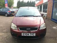 2004 Ford Focus C-MAX 2.0TDCi - MOT: 20 NOV 17 (no advisory) - FULL SERVICE-114K