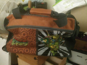 Ninja Turtles small soft case with wheels and pull handle London Ontario image 1
