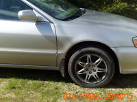 parting out 1999-2002 acura tl 3.2
