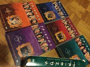 DVD FRIENDS season 1-6 + special Final DVD