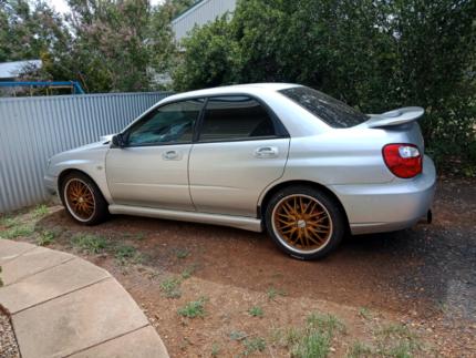 Subaru Wrx  turbo Dunedoo Warrumbungle Area Preview