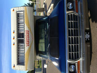 Vanguard 8 foot camper. Truck also available
