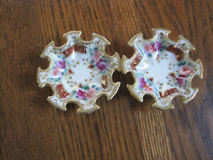 2 Antique Nut Dishes Kitchener / Waterloo Kitchener Area image 1