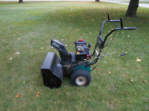 "SNOW BLOWER MURRAY 5HP 22""CUT (REPAIR OR PARTS) London Ontario image 1"