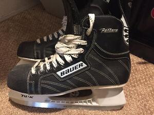 hockey skates used once!