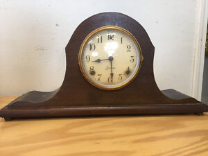 old SESSIONS mantle clock