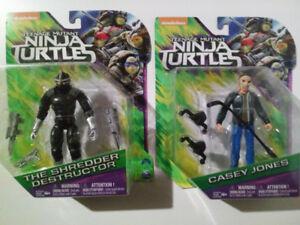 Teenage Mutant Ninja Turtles - Shredder & Casey Jones - New