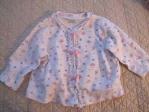 8 Baby girl sweaters/tops