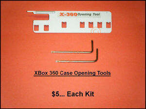XBox 360 Case Opening Tools