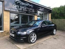 2014 64 Audi A4 2.0 S Line Automatic FSH 1 Owner