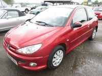 2008 Peugeot 206 1.4HDi 70 2005MY Look DIESEL, LOW MILEAGE, 1 OWNER
