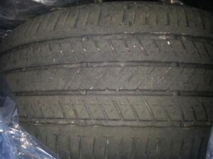 3 Bridgestone turanza el400 215/50/17 all season tires.