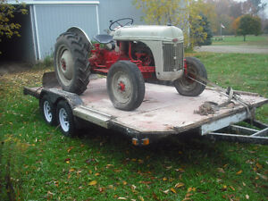 8n ford tractor, blade, trailer Kitchener / Waterloo Kitchener Area image 4