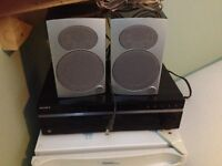 Sony Sound system with two speakers