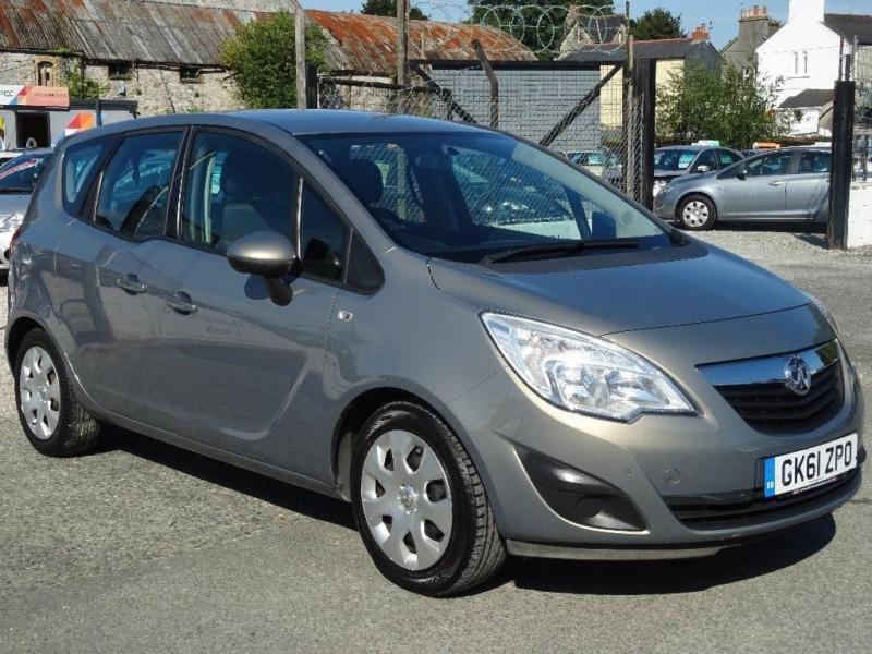 2011 Vauxhall Meriva 1.7 CDTi 16v Exclusiv 5dr (a/c)