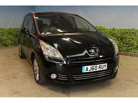 Peugeot 5008 1.6HDi FAP EGC Exclusive**DIESEL AUTO**7 SEATER**FSH**NEW MOT**