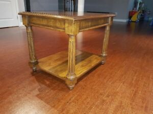 Solid Wood End Table