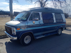 1990 Chev C20 Conversion Van