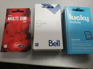 Selling Rogers, Fido, bell, virgin, Sim Cards CHEAP.CHEAP!!!!!!!