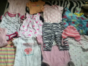 Baby girl clothes and toy lot Windsor Region Ontario image 2