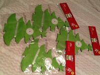 4 packs of 4m Christmas tree garland 16m total