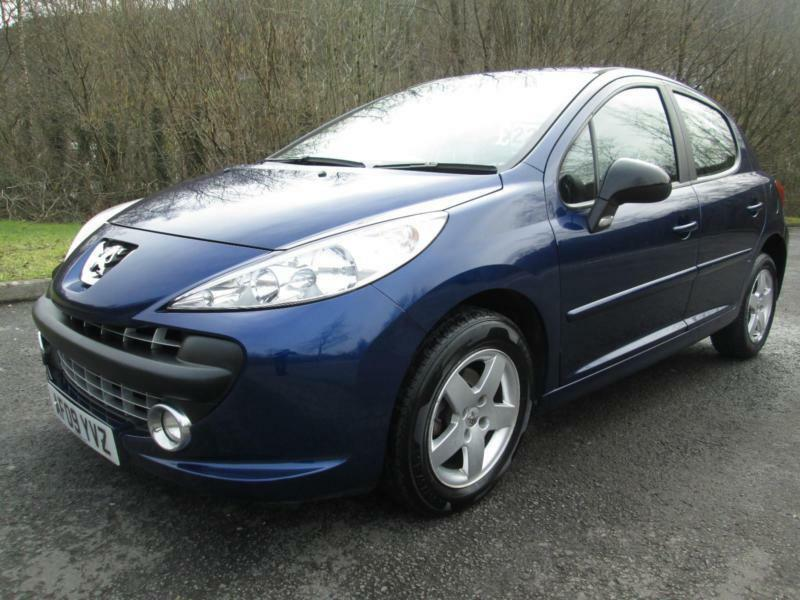09 09 peugeot 207 1 4 sport 5dr hatch in blue with new mot in porth rhondda cynon taf gumtree. Black Bedroom Furniture Sets. Home Design Ideas