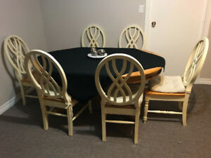 Dining Table Set (8 Piece)