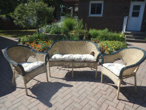patio settee set