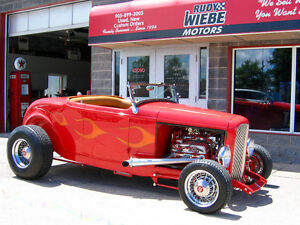 1932 Ford Roadster Hi-Boy - 355 SBC with Blower