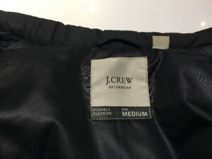 J Crew Bomber Jacket - Ladies - Medium