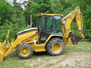 cat 416D backhoe