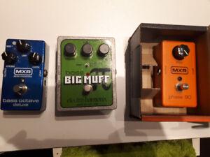 Bass/Guitar fx pedals