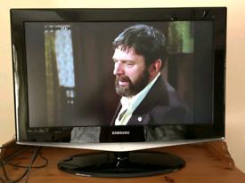 Samsung 32inch TV build in digital can deliver set up