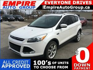 2015 FORD ESCAPE TITANIUM * 4WD * LEATHER * BACK UP CAMERA * MOO