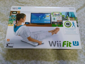 NEW! Nintendo Wii Fit U with Balance Board and Fit Meter