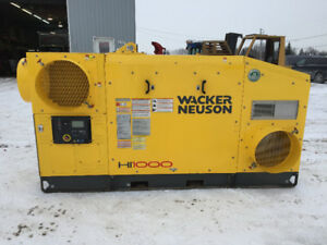 Chauffage Wacker Neuson HI1000 indirect Air Respirable Heater