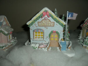 Precious Moments Christmas Village Post Office