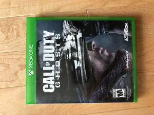 Call of duty ghost Xbox one vente ou échange