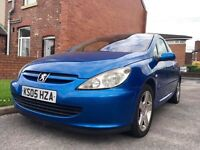 2005 Peugeot 307 Xsi Hdi 1.6 Diesel Full MOT Drives Superb!
